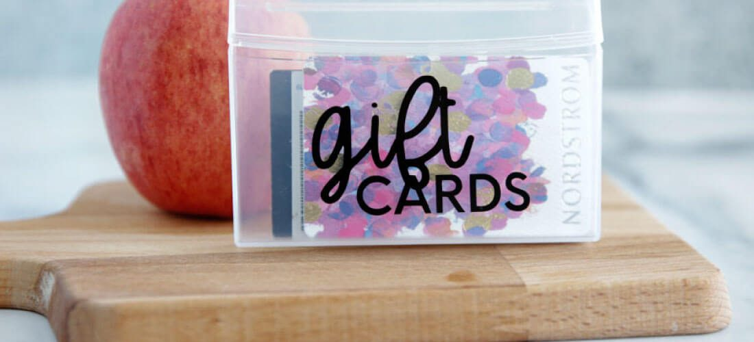 How to Make Labels Using a Cricut Machine