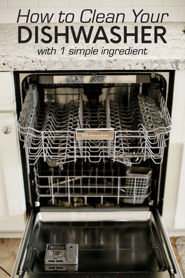 How to clean dishwasher with one simple ingredient