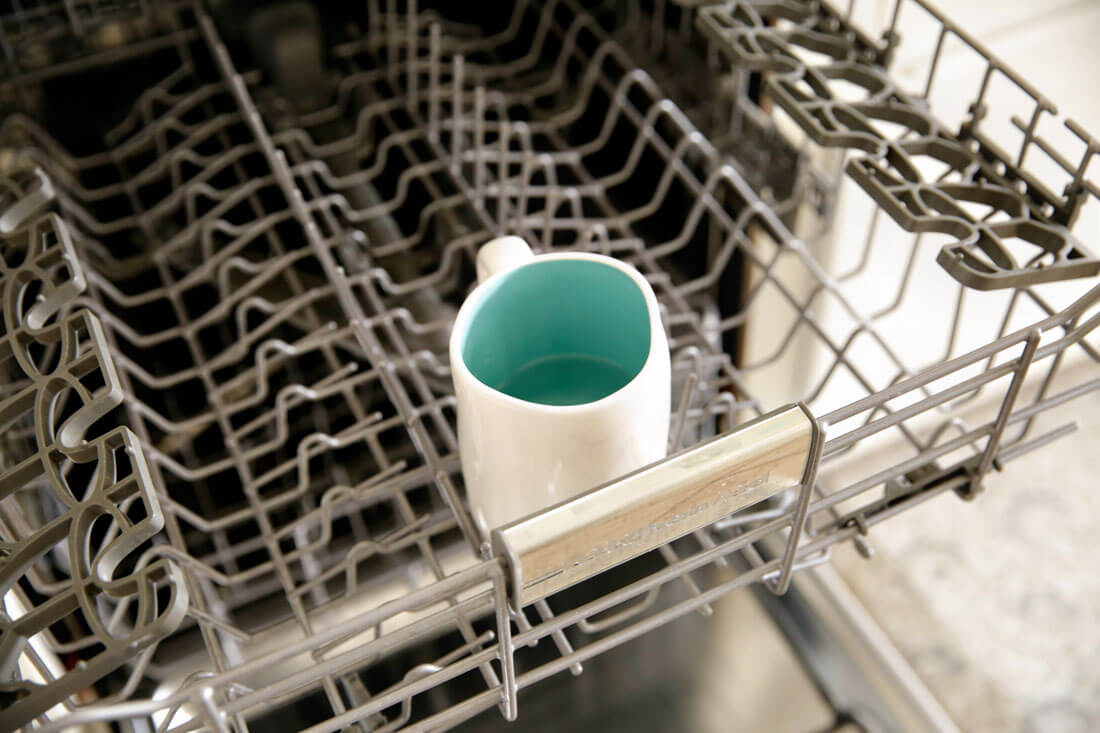 How to clean dishwasher using one simple ingredient - vinegar