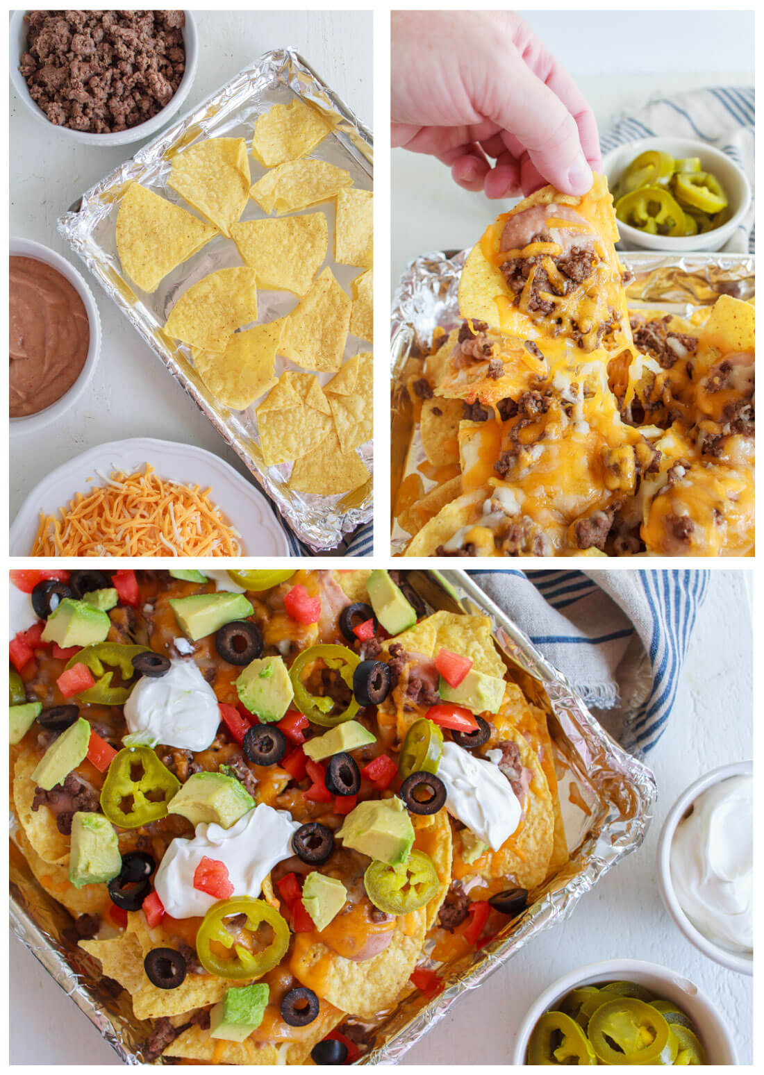 How to make nachos in the oven
