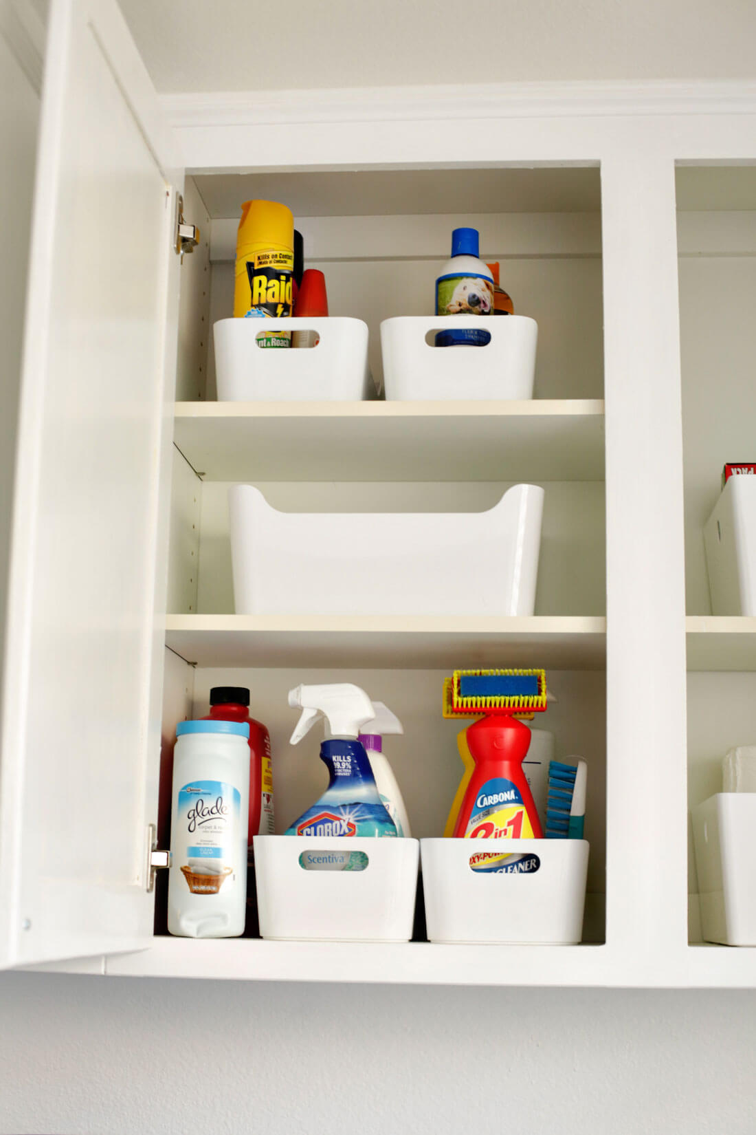 How To Organize Your Laundry Room Cabinets From 30daysblog