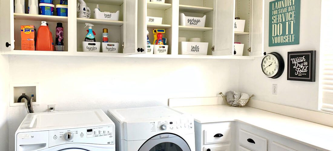 How to Organize Your Laundry Room Cabinets