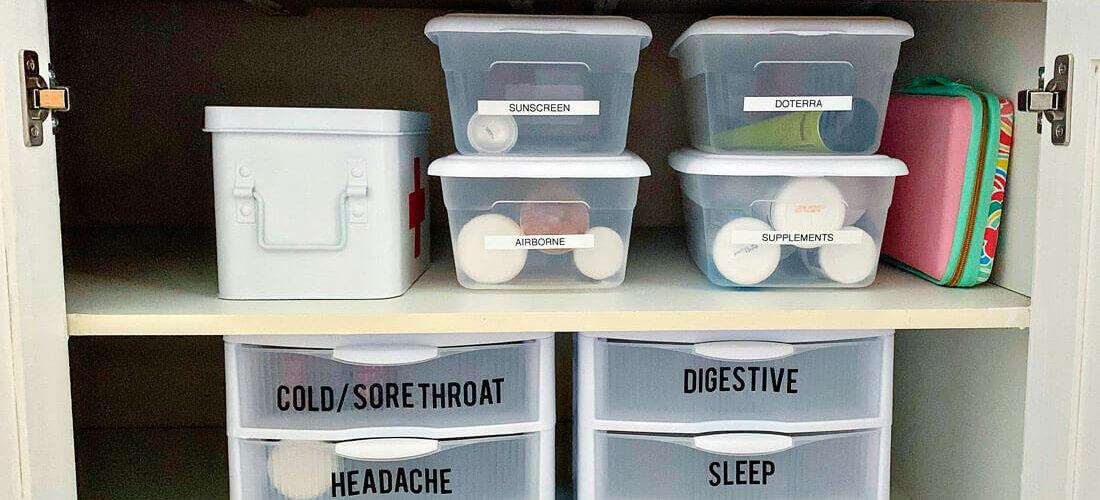 Medicine Cabinet Organizer