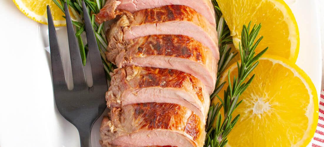 Rosemary Citrus Pork Tenderloin