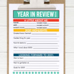 New Year Resolutions for Kids 2020