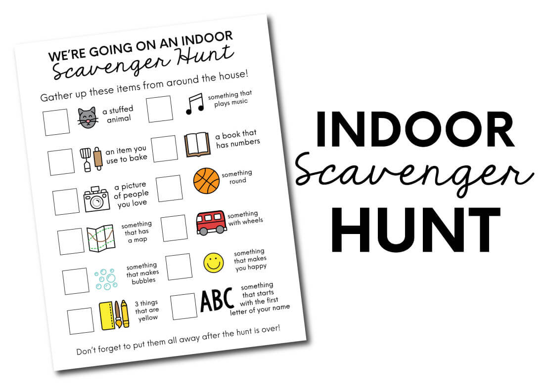 Indoor Scavenger Hunt