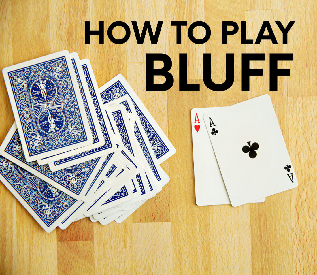 Card games for kids - Bluff