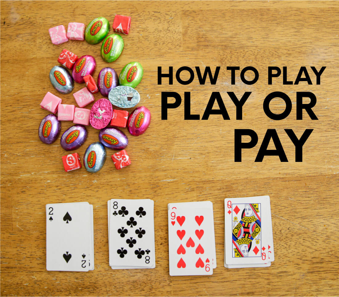 Family card games- play or pay