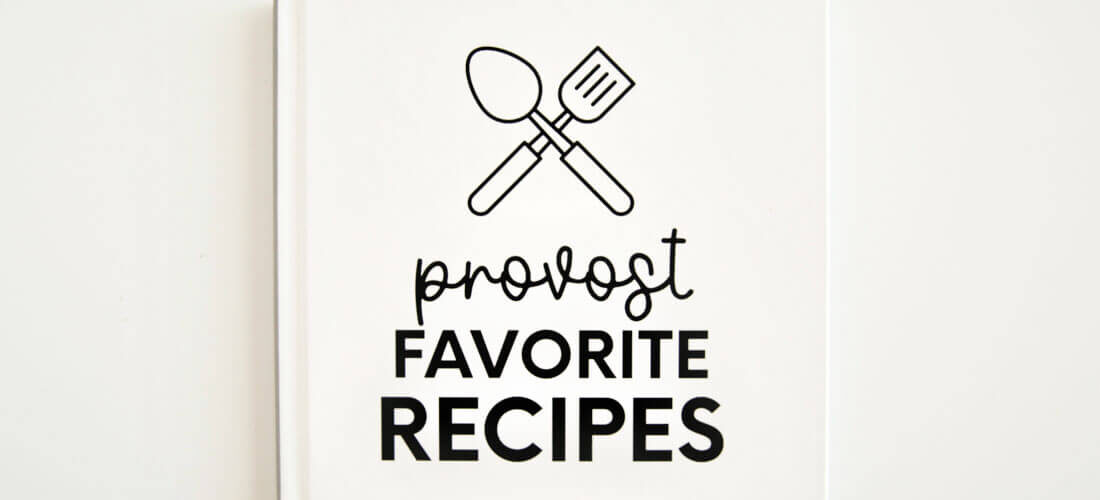 Editable Recipe Book Template