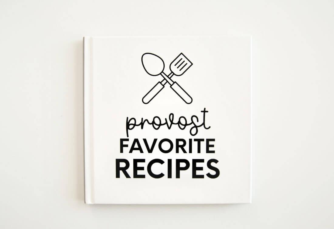 Editable Recipe Book Template