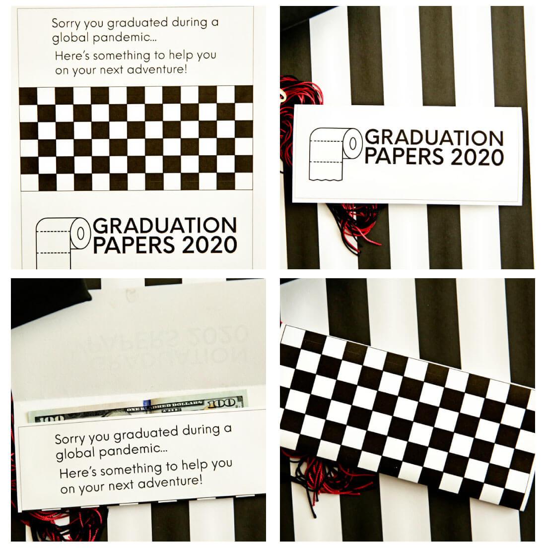Graduation Card collage