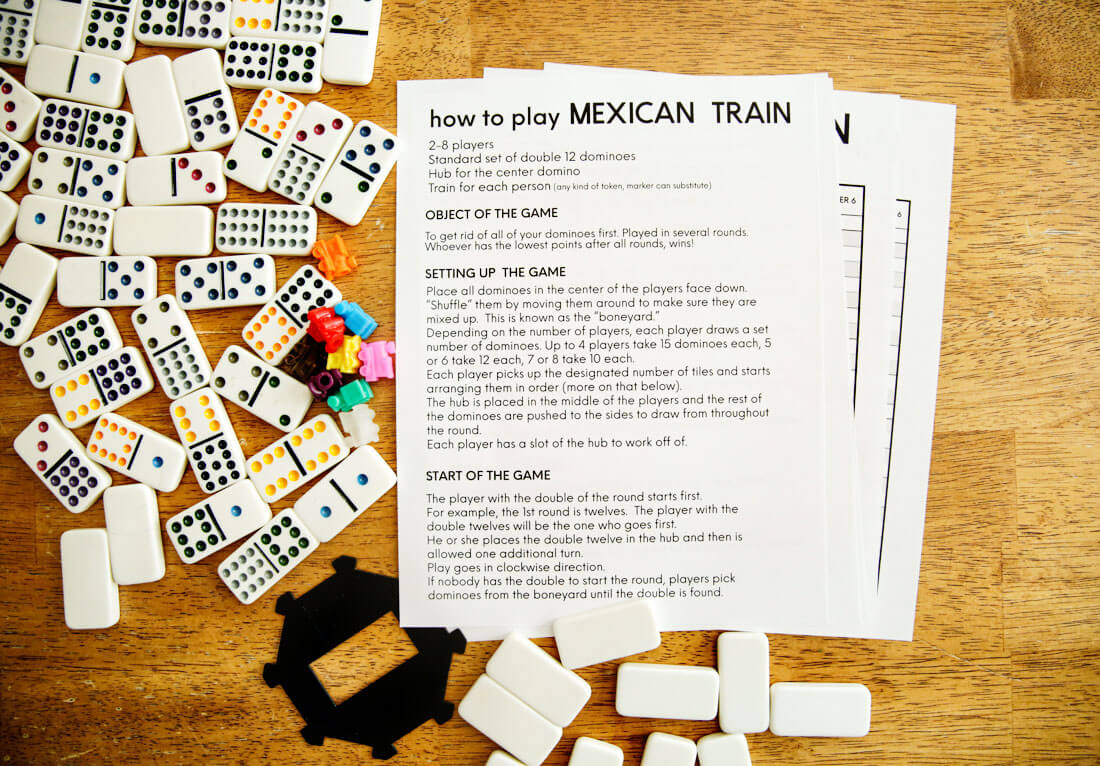 Mexican Train Rules