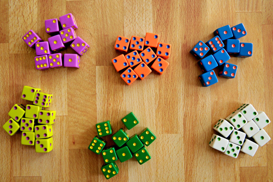 Tenzi dice game
