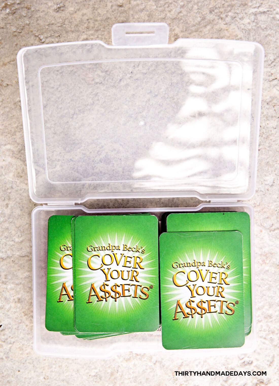 Organize card games