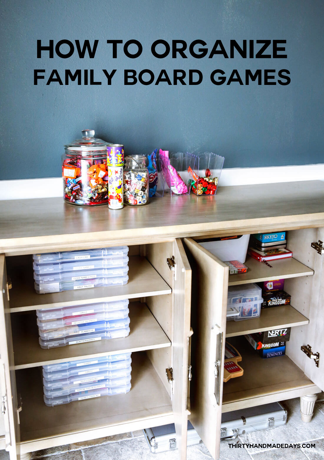 How to organize family games
