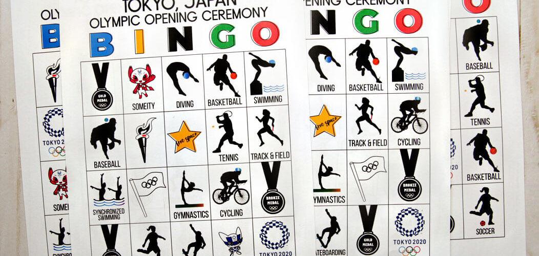 Olympics Opening Ceremony BINGO