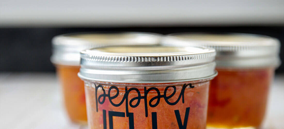 How to Make Pepper Jelly & Create Labels Using Cricut